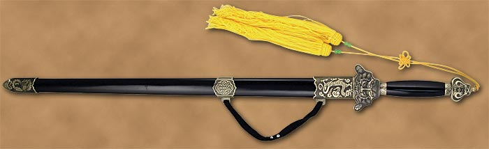 Dragon Tai chi sword